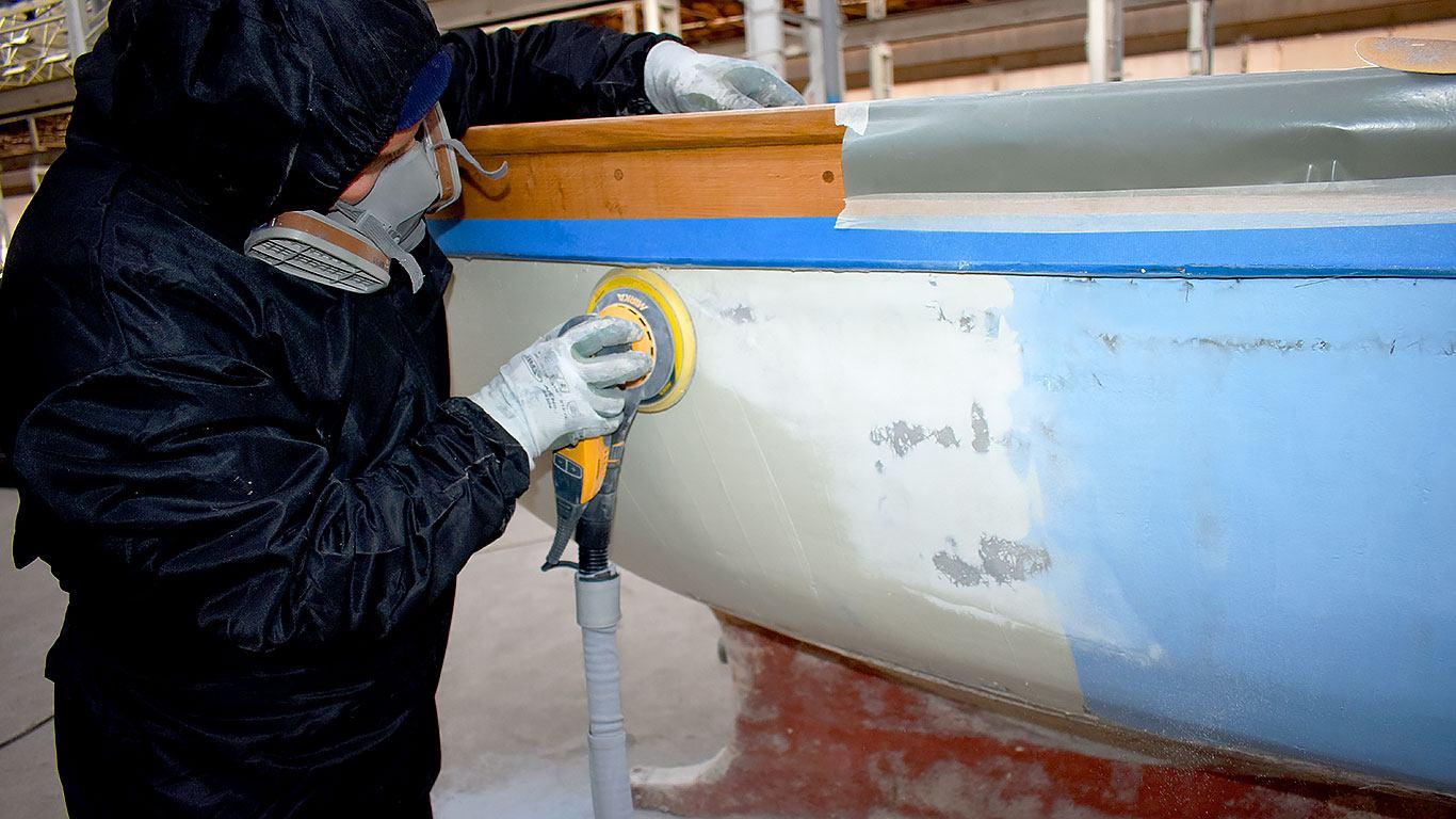 Plastificiranje drvene barke