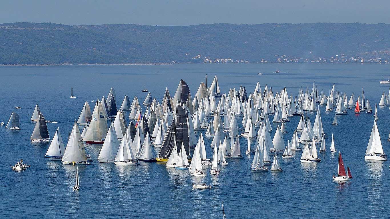 Festival jedrenja u Splitu
