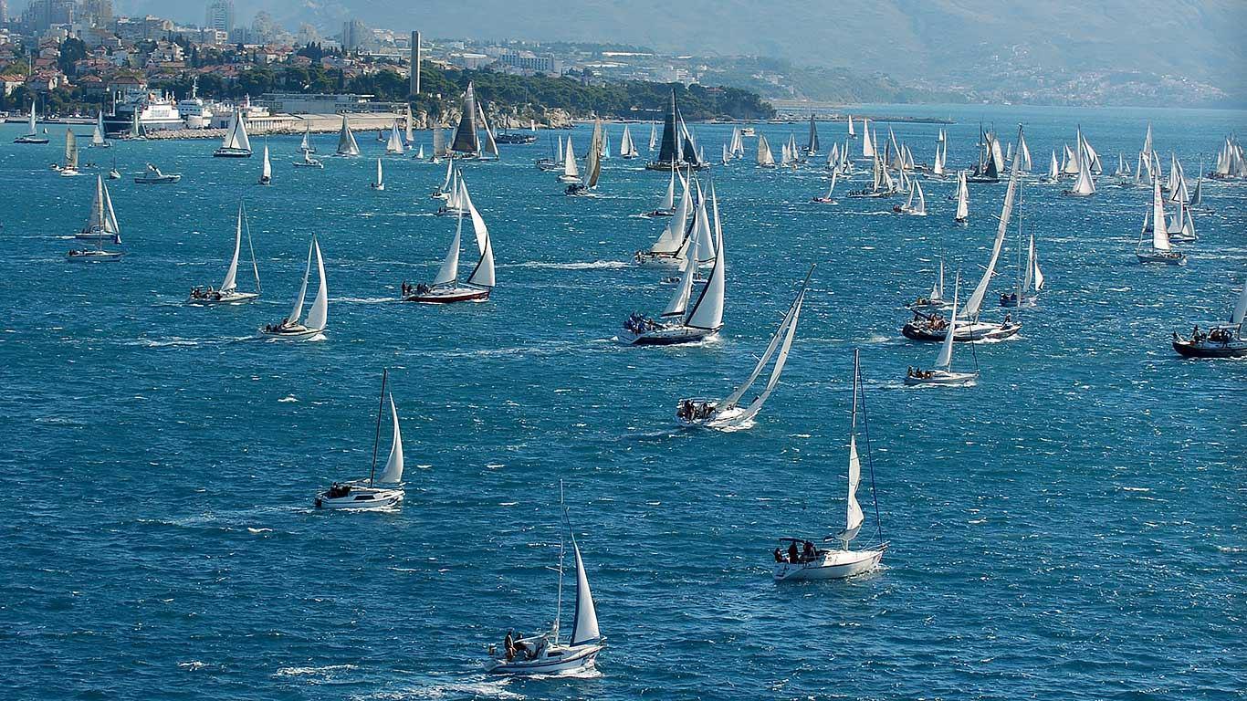 Sve je spremno za 90. Mrduju - Festival jedrenja u Splitu
