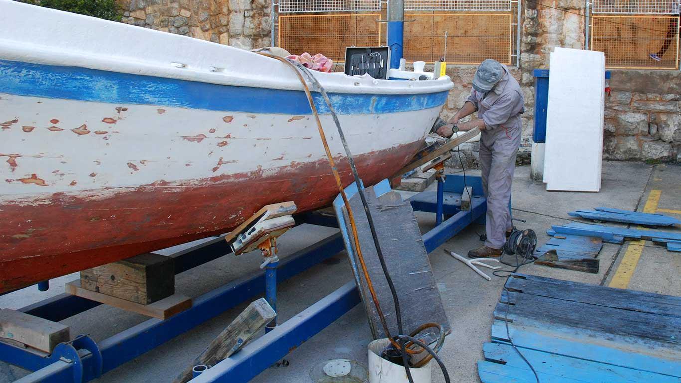 Održavanje drvenog plovila