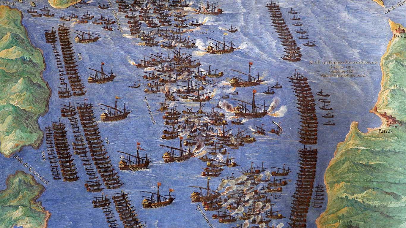 450 godina Bitke kod Lepanta posljednje velike bitke galija na vesla