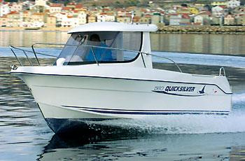 Quicksilver 560 Pilothouse
