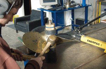 Uravnoteženje i tolerancije za izradu brodskih vijaka