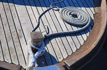 Konopi na plovilu