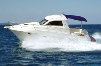 Hidrodinamika - Plovidba brzim motornim plovilom po valovitom moru