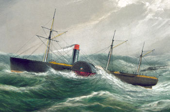 Kad su parobrodi s kotačima vladali Atlantikom